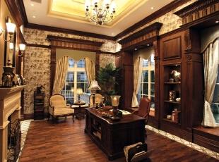 京基领域-欧式别墅-天津京基领域欧式奢华设计