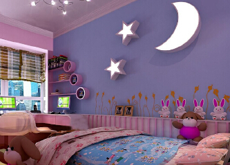 儿童房颜色如何选择?儿童房颜色效果图赏析