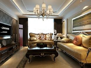 海棠湾-欧式四居-海棠湾157平古典欧式风格欣赏