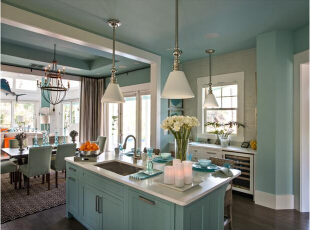 美式厨房装修风格如何...