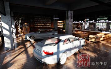 9298--汽车餐厅