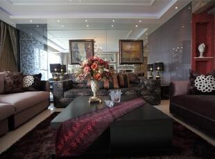 117平米混搭时尚婚房 轻奢舒适的住宅