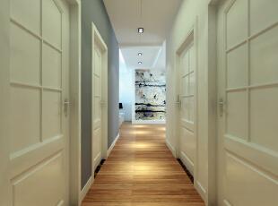 保利梧桐语-简约三居-空间利用率超高的简约设计案例