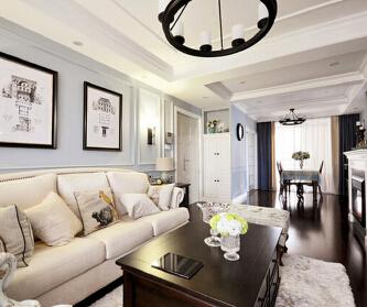 美式风格两居室装修 ...