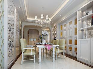 银基王朝-欧式大户型-银基王朝230平简欧风格烂漫之家