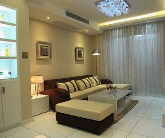 88平米两居室现代简约风...