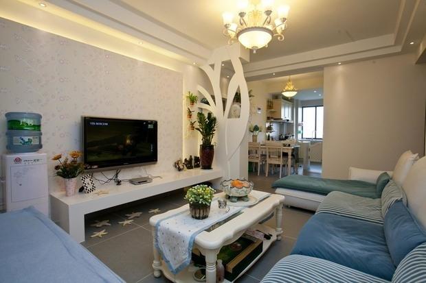 0平米三居地中海风格-谷居家居装修设计效果图