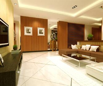 宝地东花园两居室装修现代...