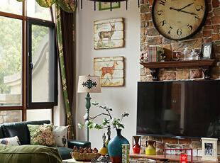 绿色港湾-混搭别墅-麋鹿原野——合肥李秀玲设计作品