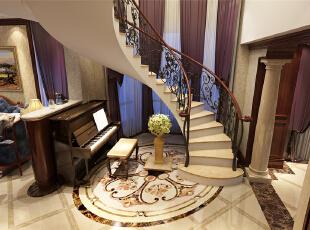 盛世天地别墅户型装修欧美风格设计-上海聚通装潢最新设计案例,欢迎品鉴!