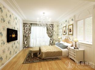 泰晤士小镇三居室户型装修简约地中海风格设计方案展示——上海聚通装潢!