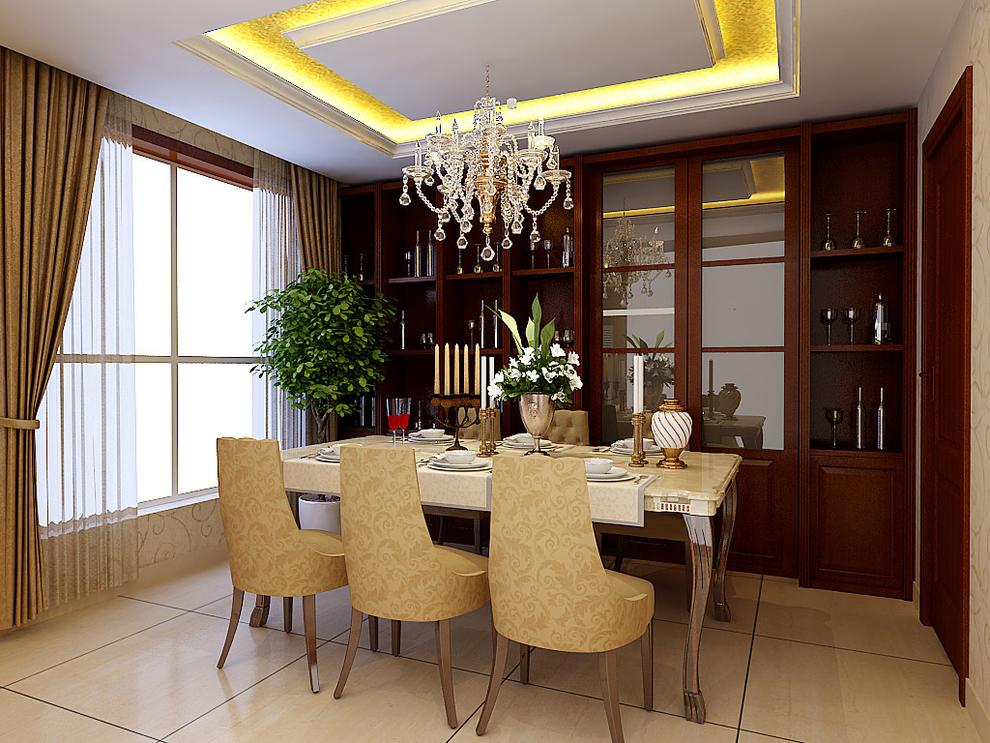 简欧风格继承了传统欧式风格的装饰特点 - 85.0平米