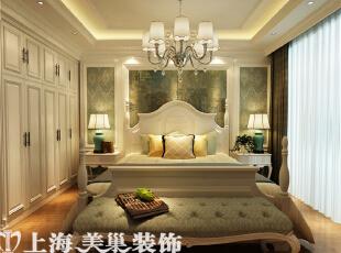 郑州昌建誉峰170平简欧风格装修效果图--卧室