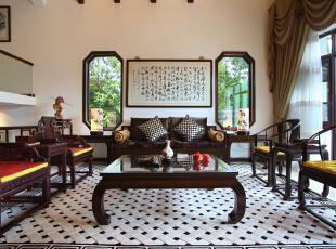 中式建筑的另一特色是木材结构的间架,
