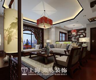 上东城144平新中式装修...
