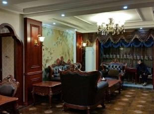 从餐厅看客厅的角度,手机随手拍的,不专业噢!,98平,30万,新古典,两居,