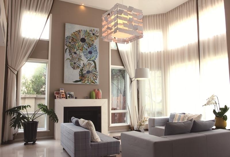 【别墅豪宅精品设计】国际城四期现代简约风格装修设计实景照片