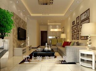 天地湾85平三室两厅现代简约风格装修效果图--客厅,客厅采用隐形门、壁纸、石膏板、镜子的运用,精湛的制作工艺,东方细腻的独具匠心与西方顶尖的巧夺天工被完美的融合在改项目之中、从而呈现出一个文美学同时又有国际化视野的空间。