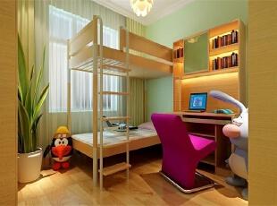 【南昌实创整体家装】方大上上城-现代简约风格儿童房设计效果