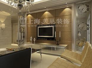 逸品香山134平三室两厅简约装修效果图客厅电视案例