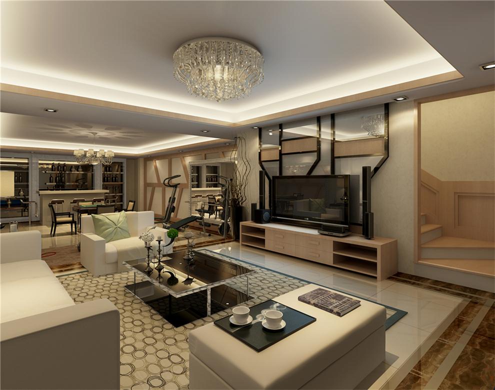 万科燕南园别墅户型装修现代简约中式风格设计方案展示,上海聚通装潢