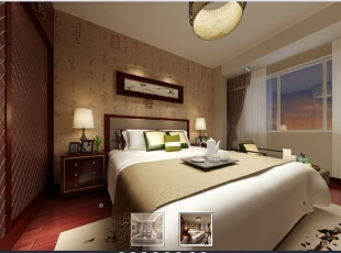 红谷新城-中式三居-【北京实创南昌分公司】红谷新城|117平|新中式风格装修设计