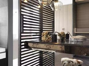 现代四居-四居室现代黑白灰风格