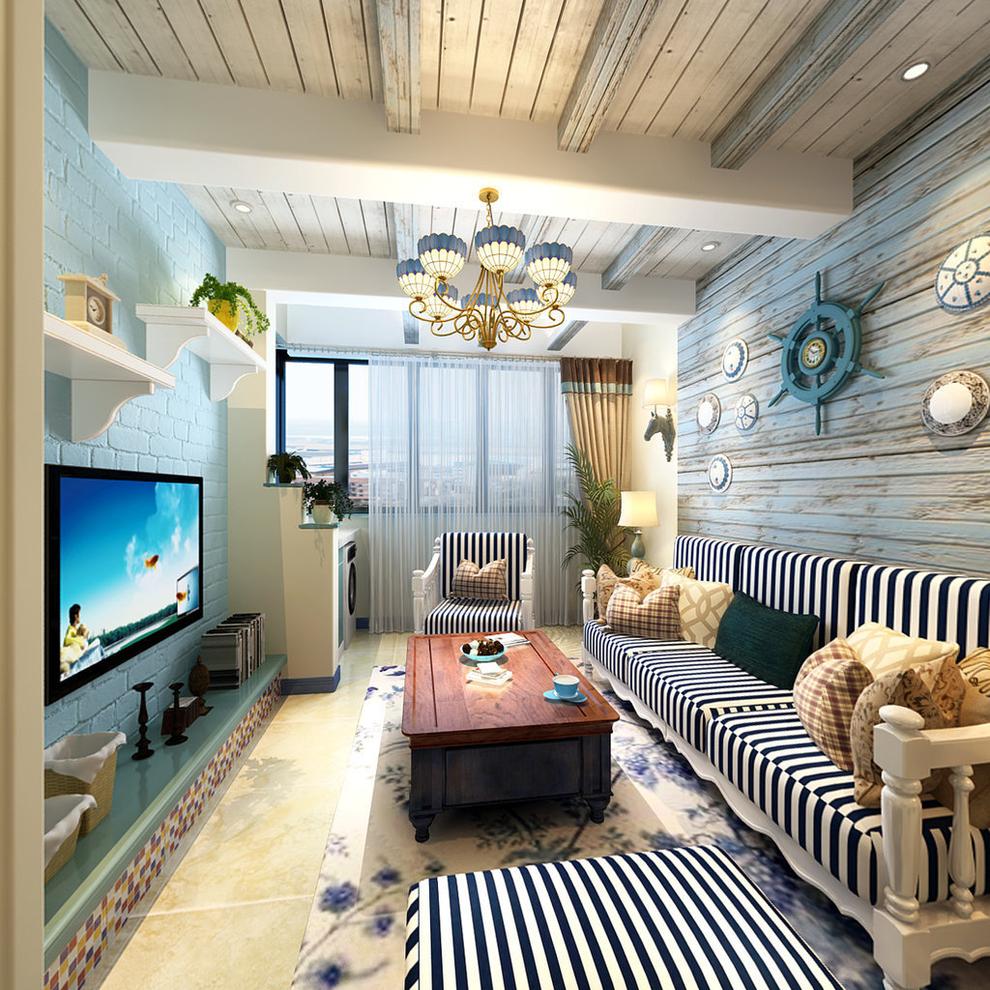 0平米两居地中海风格-谷居家居装修设计