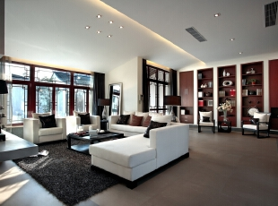 格林云墅-中式别墅-中式风格