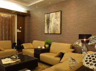 龙海家园-现代两居-龙海家园98平三居室现代简约风格装修