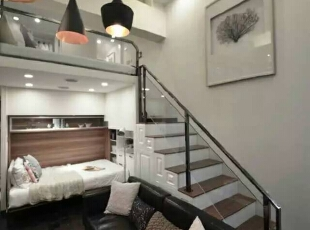 现代两居-《悦·公寓》小空间大情怀