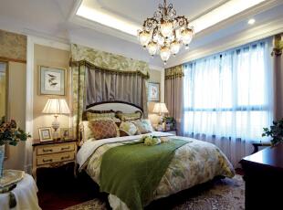 常楹公元-地中海三居-  常楹公元软装配饰设计案例