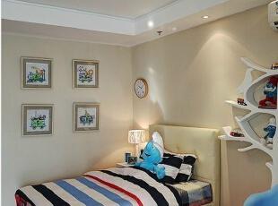 金瀚园-田园四居-上海实创装饰打造金瀚园四居室现代田园风格