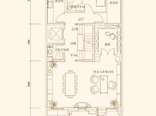 户型图,481平,30万,中式,别墅,