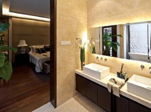卫生间:古朴的休息间让人有一种穿越古今般的感觉,整体古色古香,481平,30万,中式,别墅,