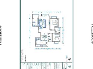 博瑞花园142平现代简约风格三室两厅样板房装修户型图,142平,16万,现代,三居,