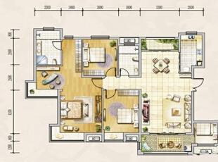 ,142平,16万,欧式,三居,玄关,客厅,餐厅,卧室,厨房,书房,儿童房,卫生间,阳台,