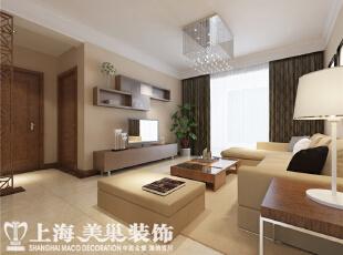 财信圣堤亚纳125平4室2厅客厅装修效果图,125平,8万,现代,四居,客厅,黄色,