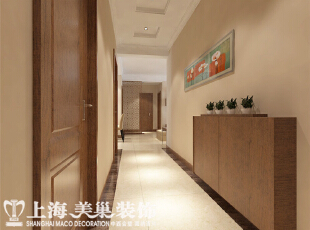 财信圣堤亚纳125平四室两厅入户门装修效果图,125平,8万,现代,四居,客厅,原木色,