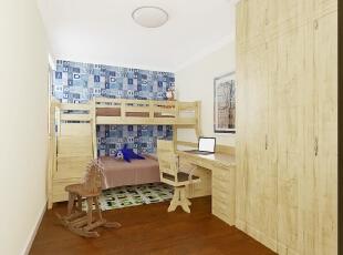 ,89平,8万,两居,现代,卧室,原木色,