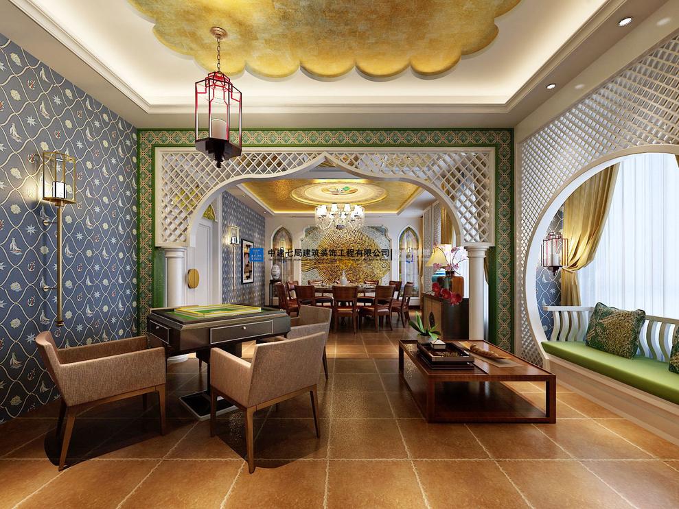 室内装饰风格的伊斯兰风格