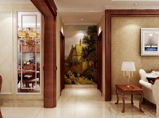 ,190.0平,15.0万,美式,三居,客厅,原木色,