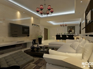 现代简老生常谈,工业化的丙代,冰冷,工业的精装放在家里面使家要像精致的工艺品,98平,7万,现代,两居,
