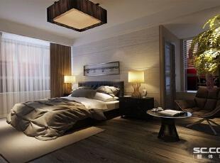 此卧室注重的是安静、祥和,都市的忙碌生活,早已让我们烦腻了花天酒地,灯红酒绿,我们更喜欢的一个安静,祥和,看上去明朗宽敞舒适的家,来消除工作的疲惫。 卧室的设计维持一贯的时尚、舒适的基调,并建立了实用贴心的收纳功能,精品专柜般品味。,250平,15万,简约,四居,