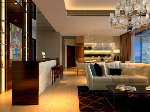 ,200平,0万,现代,三居,客厅,黑白,