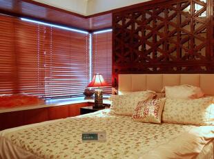,150平,25万,中式,三居,卧室,黄色,