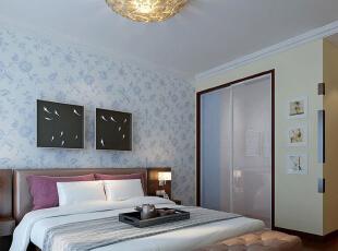 ,120平,11万,中式,两居,卧室,春色,
