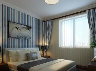,120平,11万,中式,两居,卧室,蓝色,