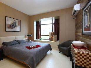 ,65平,285万,现代,一居,卧室,黄色,