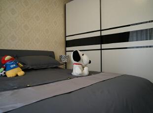 ,146平,28万,现代,两居,卧室,简约,黑白,小资,黑白,